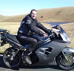 Andy Field - motorcycle training testimonial