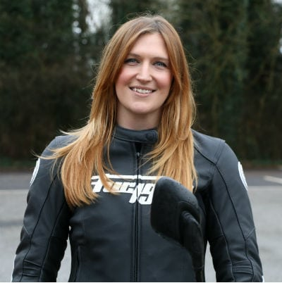 Laura Smith - Redditch motorcycle training instructor