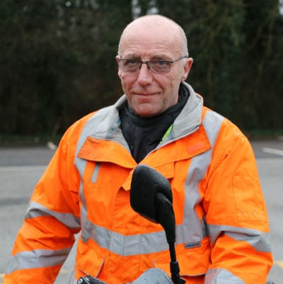 Paul Barrett - Birmingham motorcycle training instructor