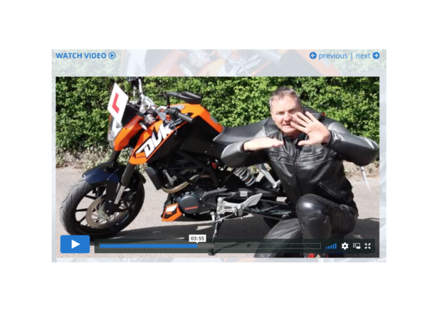 Changing gear lesson Pass your CBT - The essential guide