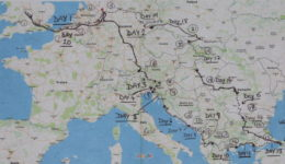 European motorcycle tour Germany - 20 Countries in 20 Days (Chapter 1)